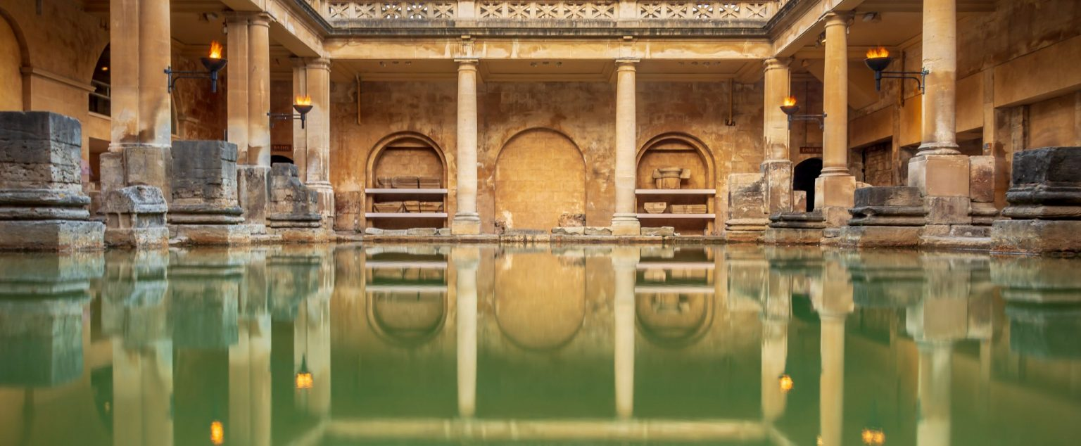 Inside the Roman Baths