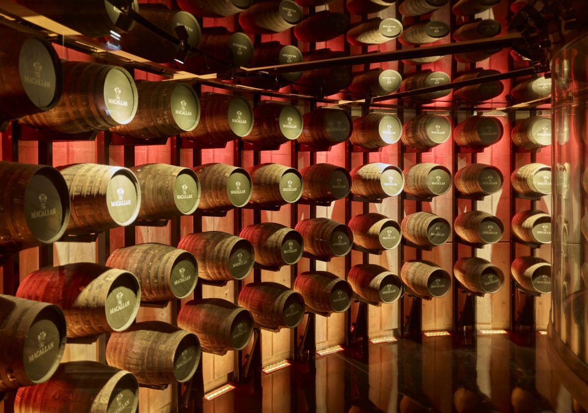 barrels-macallan Scotalnd